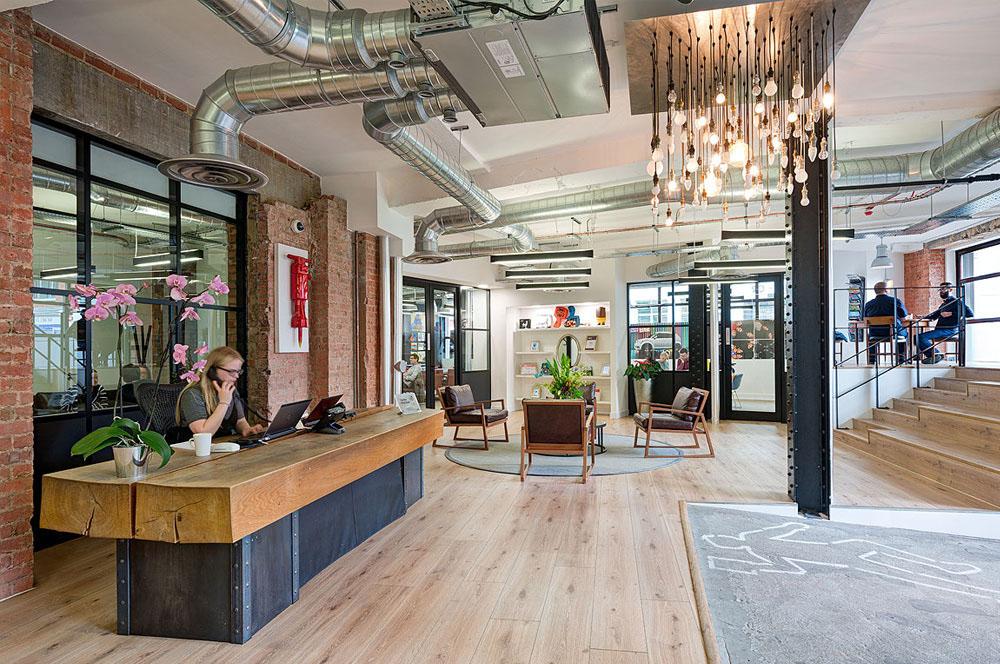 London Office Reception Data Driven Customer Experience Agency